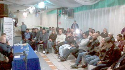 Se realizó el plenario provincial de Secretarios Generales de gremios municipales en Gualeguaychú