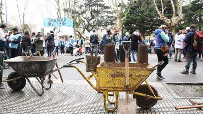 Cooperativistas de Mar del Plata vuelven a reclamar por la construcción de 56 viviendas