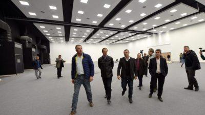 Está a punto de finalizar la obra del centro de convenciones de Paraná