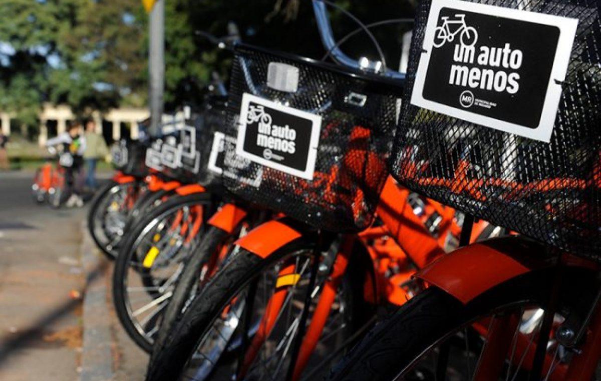 Rosario: Habilitarán por semana tres nuevas estaciones de bicicletas públicas
