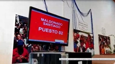 Se multiplica un original reclamo por Santiago Maldonado: esta vez en el PAMI de Bariloche