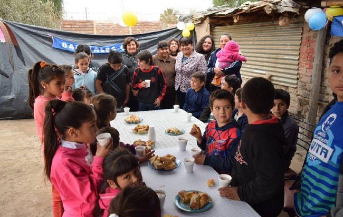 En Caucete hay alrededor de 900 familias en estado de vulnerabilidad