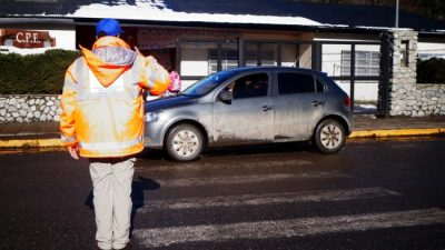 Bariloche: Retención de servicios en Tránsito