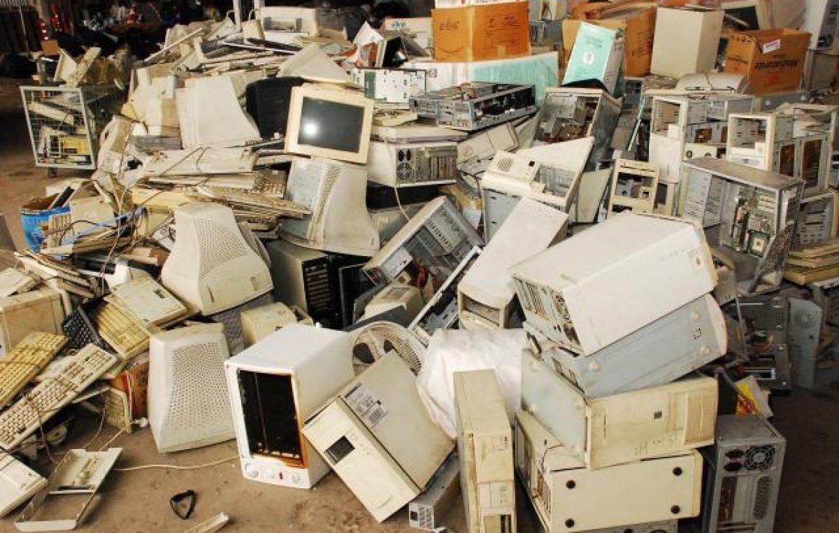 Se inauguró un centro de recepción de residuos tecnológicos en Paraná