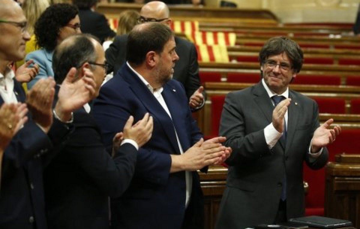 Cataluña dio un paso sin retorno hacia la secesión