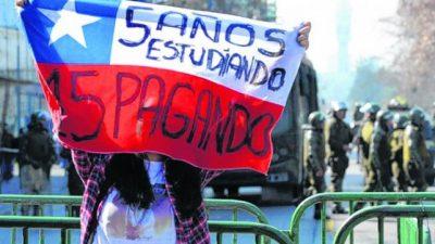 Las universidades estatales de Chile son más caras que las privadas