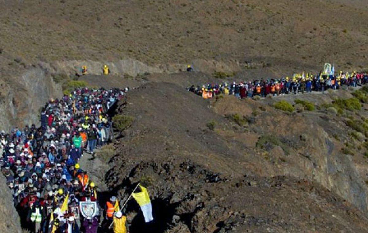 Caminata de fe de los mineros salteños