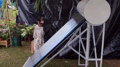 La bioconstrucción y energías alternativas ya generan empleo en General Mosconi