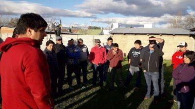 El SOEME y ZO evalúa medidas de fuerza en el Municipio de Trevelin
