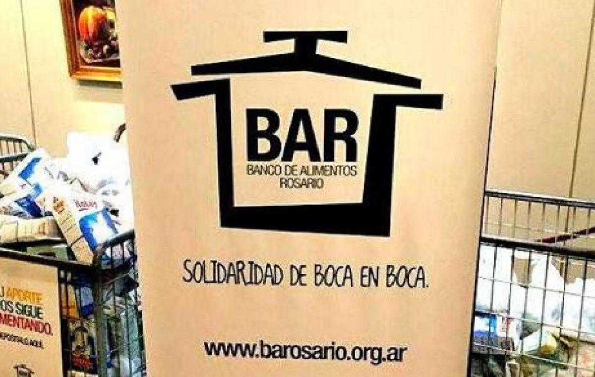 El Banco de Alimentos de Rosario ya recupera seis toneladas de fruta y verdura al mes