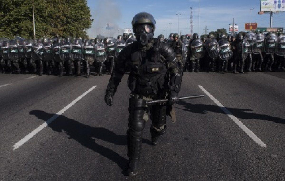Represión a los conflictos sociales: La política de Cambiemos reflejada en números en el primer semestre