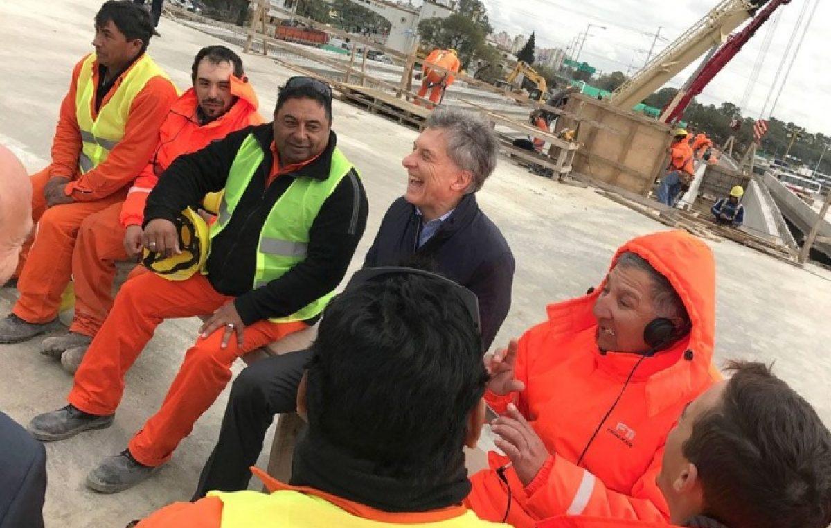 El backstage de la visita de Macri a Lomas: protestas y un enorme despliegue policial