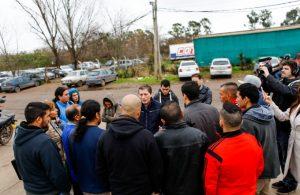 El intendente de Esteban Echeverría manifestó su preocupación por los 124 despidos en Adidas