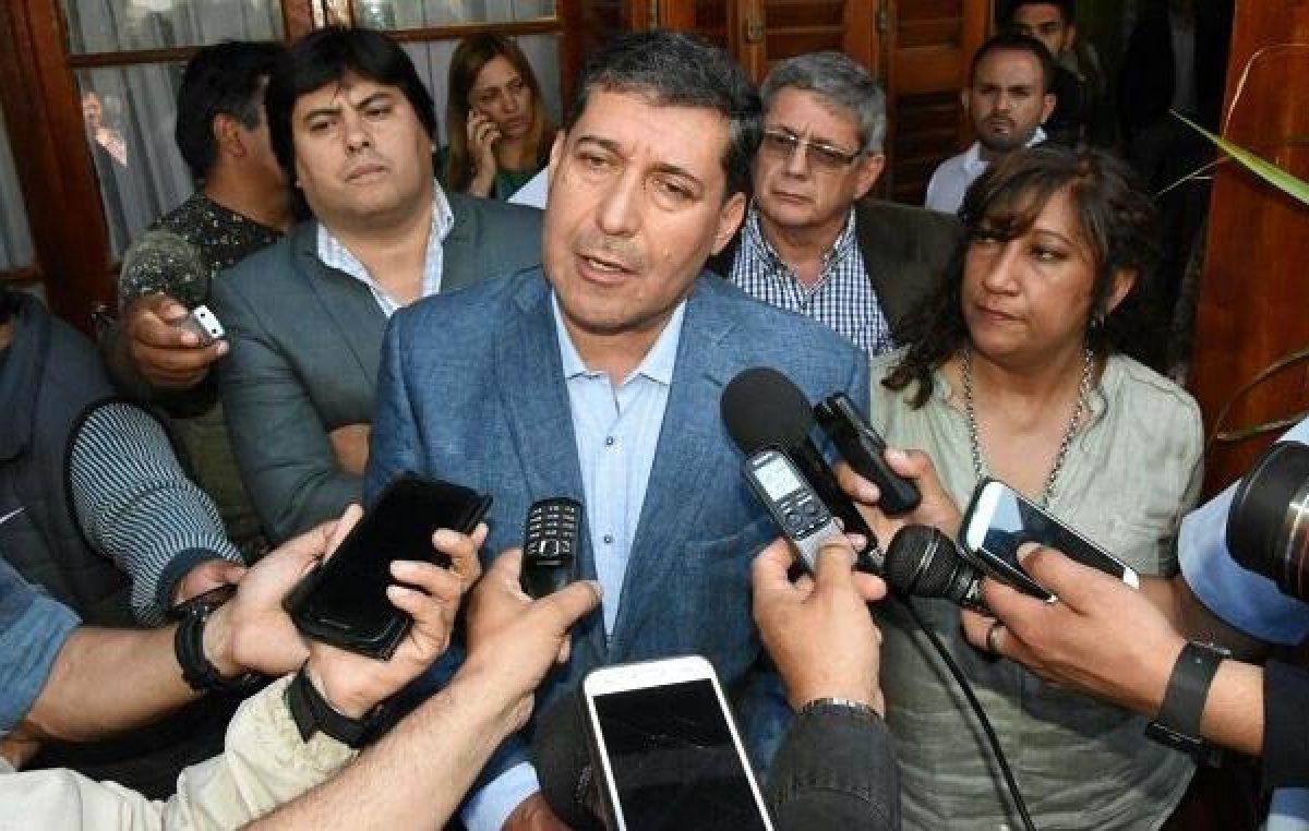 El gobernador de La Riojaconvocó los riojanos a marchar por los fondos 'extra'