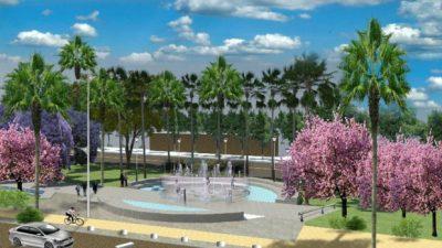 Así quedará el nuevo Parque de la Familia en Las Heras