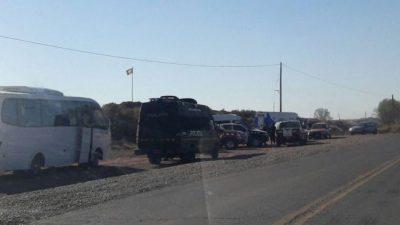 Otra represión contra la nación mapuche: violento desalojo cerca de Vaca Muerta