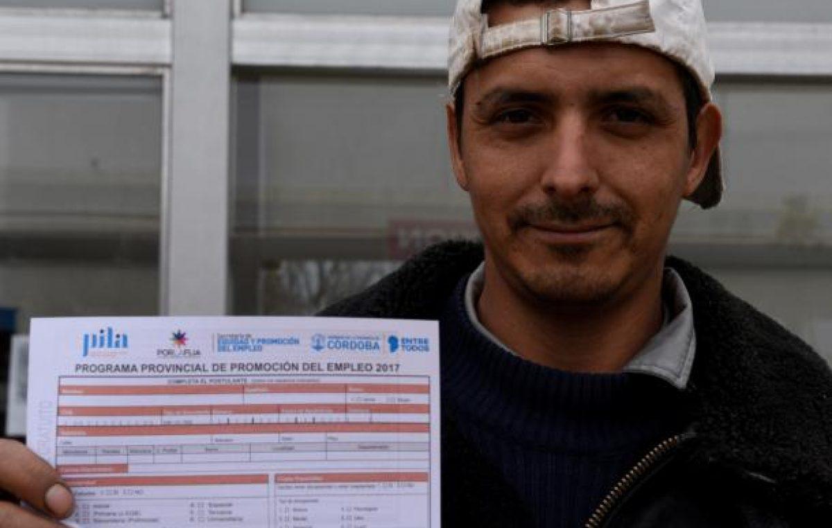 Hay 500 empresas anotadas para programas de empleo en Córdoba