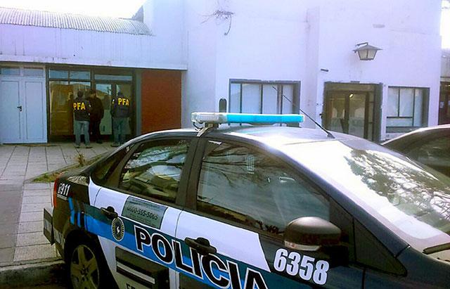 Allanaron el municipio de Caleta Olivia