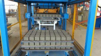 Crean en Rawson una fábrica de adoquines de hormigón