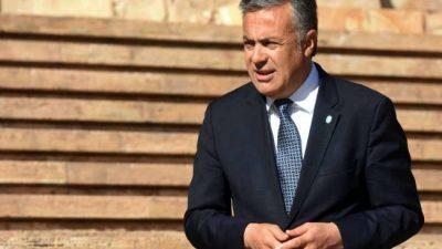 """Mendoza: Las """"obras electorales"""" enfrentan a Cornejo con intendentes del PJ"""