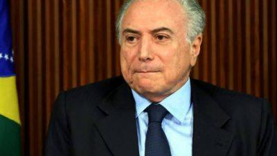 Brasil: sólo el 3% aprueba a Temer