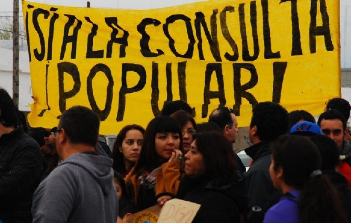 Sierra Grande hará consulta popular por la central nuclear