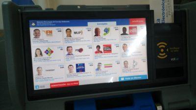 Así será la pantalla para elegir a los concejales de Neuquén capital