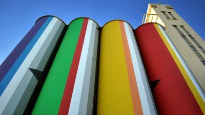 Se instaló en Rosario la primera Bienal de Arte Contemporáneo