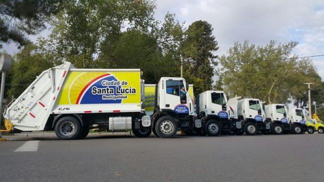 Santa Lucía a toda marcha: renovó su parque automotor