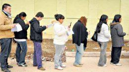 Los brotes verdes no tapan el desempleo en Buenos Aires