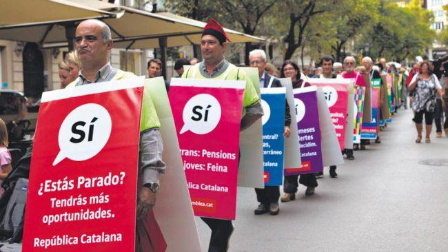 España vs. Cataluña, dos visiones de la democracia
