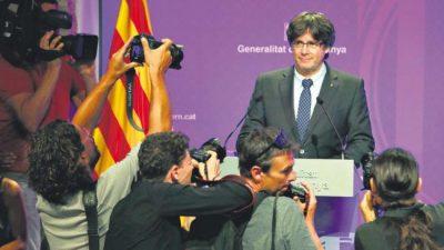 Día clave para los separatistas catalanes