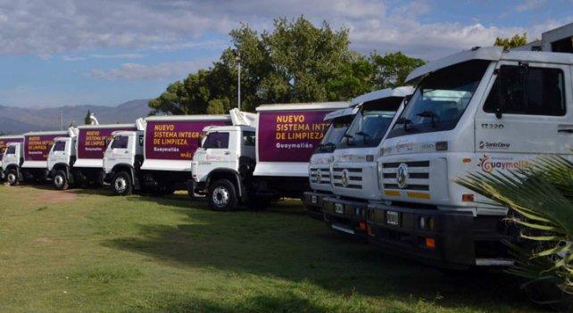 Las comunas traccionan la venta de camiones en Mendoza