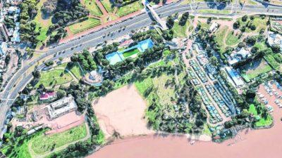 Rosario: Proyectan un sendero elevado frente a la playa del sindicato municipal