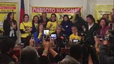 El 97% de los chilenos votaron contra las jubilaciones privadas