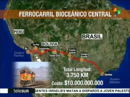 Bolivia y Suiza firmarán el 14 de diciembre acuerdo para impulsar tren bioceánico