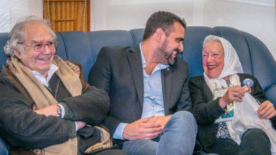 Nora Cortiñas y Pérez Esquivel visitaron la Intendencia de Ushuaia