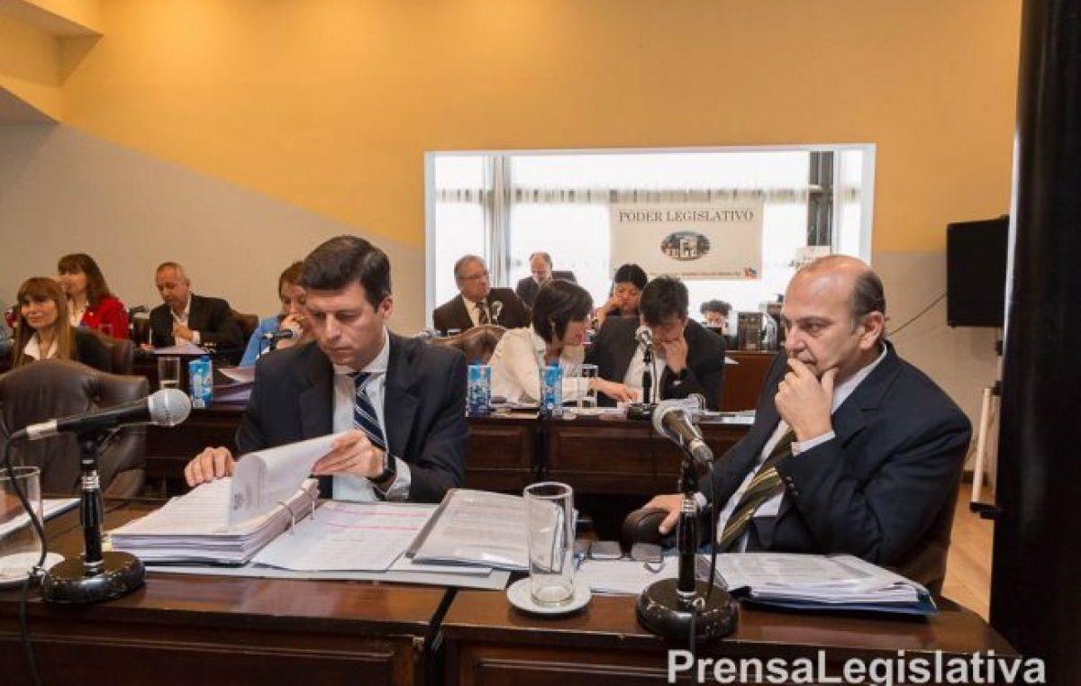 Bertone envió el proyecto de ley que propone la creación del departamento Tolhuin