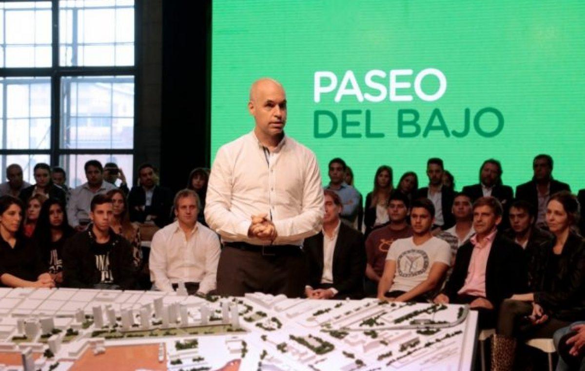 Irregularidades entre el gobierno de Larreta y el Santander Río por el Distrito de las Artes