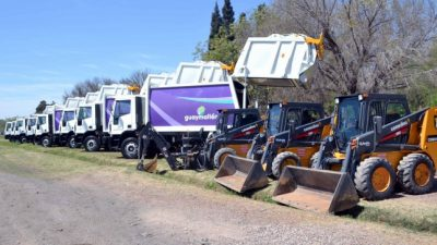 Guaymallén sumó una flota de vehículos para prestar servicios