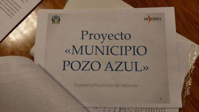 Pozo Azul ya es municipio con el voto unánime de los diputados, el primero creado desde la vuelta de la democracia