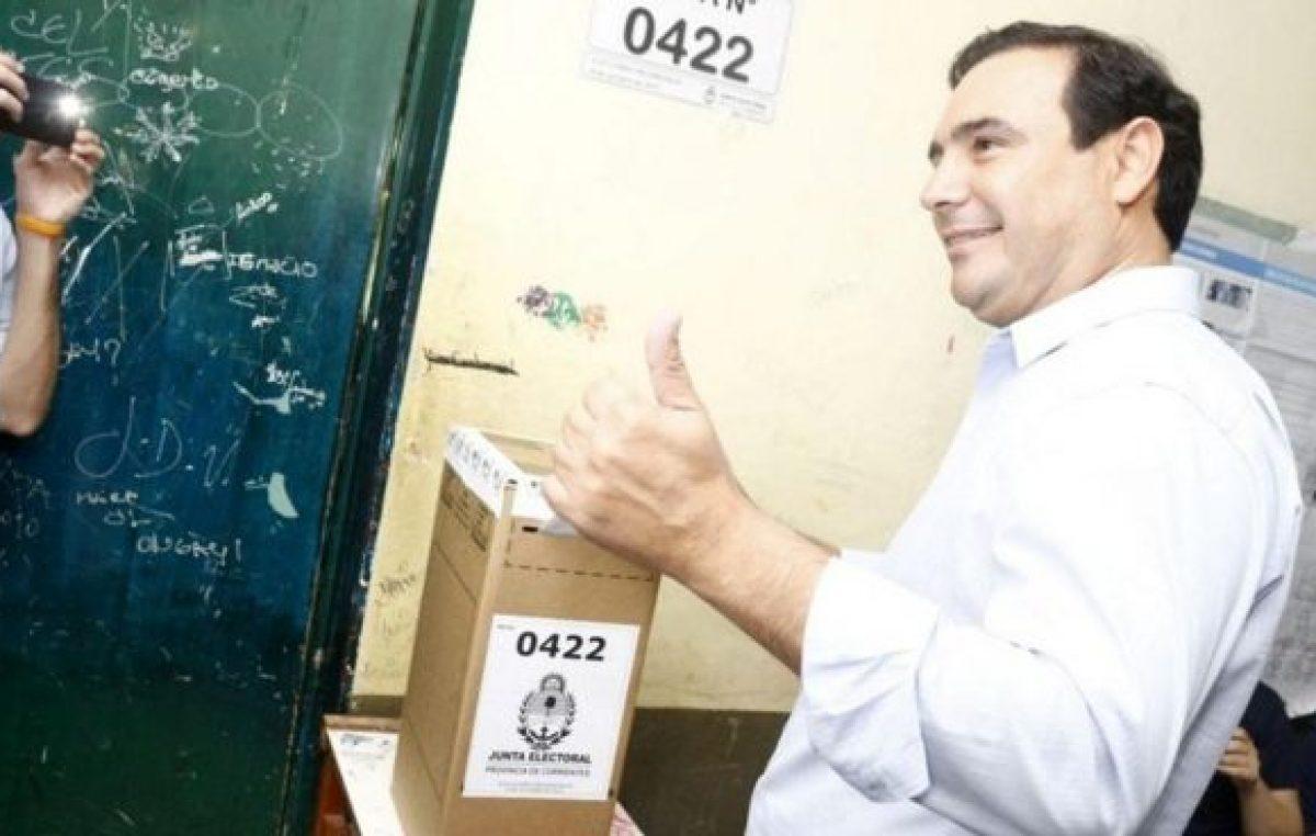 Elecciones en Corrientes: El macrista Valdés se adjudicó el triunfo