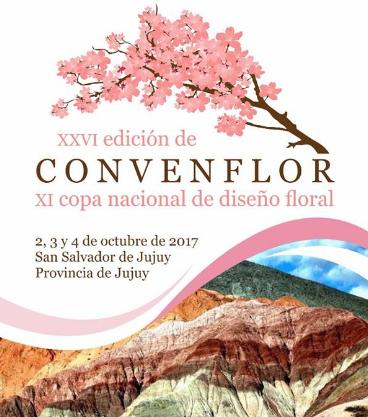 Jujuy será sede de la 26º Convenflor del 2 al 4 de octubre
