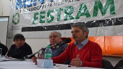 Sindicatos de la Festram analizaron en Oro Verde la situación de los trabajadores en los distintos municipios