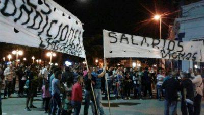 Municipales de Diamante mantienen las medidas de fuerza ante la falta de respuestas del Ejecutivo