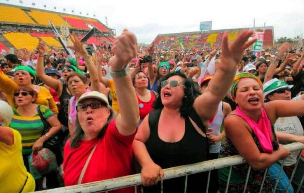 Más de 60.000 mujeres marcharon en encuentro nacional