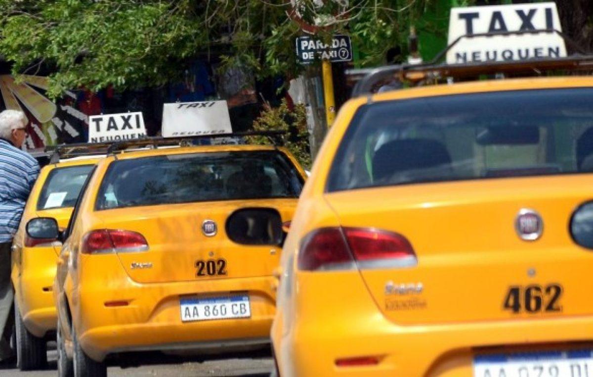 Una licencia de taxi de Neuquén vale lo mismo que un departamento