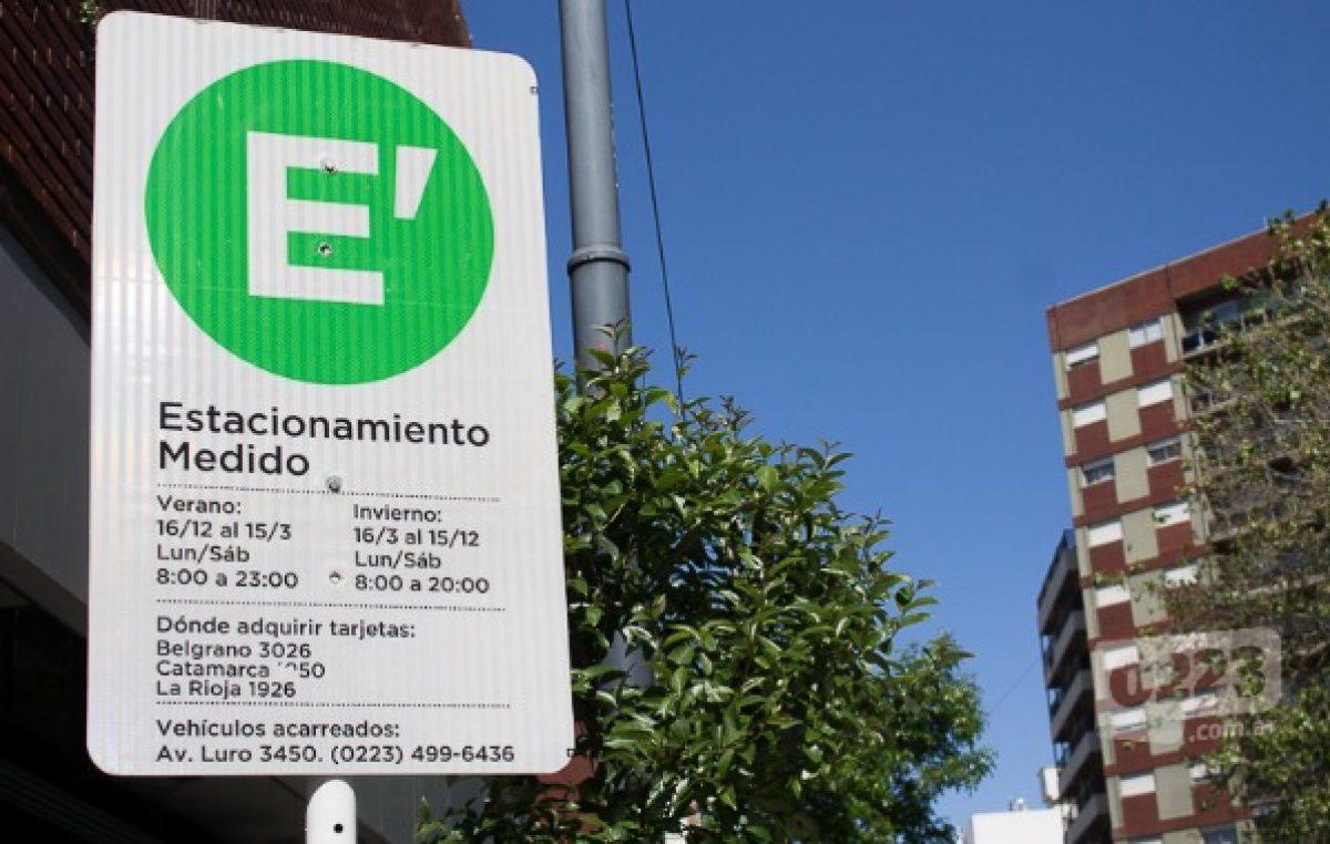 Estacionamiento medido: se desplomó la venta de horas y cayeron los beneficios para el municipio de Mar del Plata
