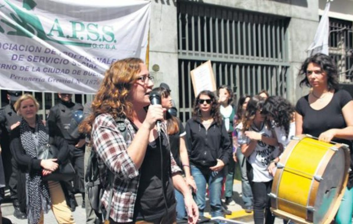 Ensayo de política antisindical en la ciudad de Buenos Aires