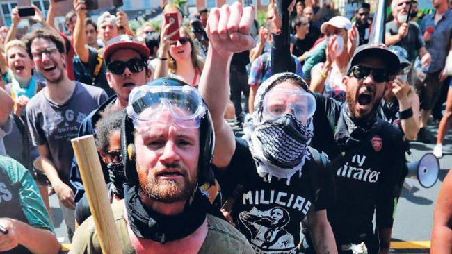 Crece en EE.UU. una fuerza antifascista